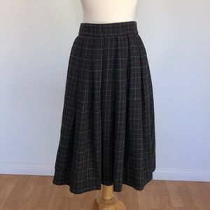 Forever 21 Plaid Midi Skirt - Size XS